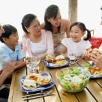 Văn hóa bữa cơm trong gia đình Việt