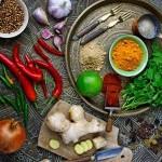 Gia vị làm nên hương vị đặc trưng cho món ăn