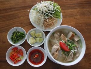 Bún cá lá dầm Ninh Hòa